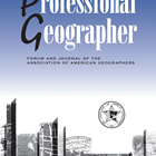 professional-geographer